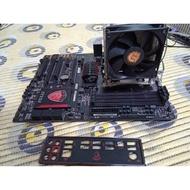 AMD FX8370(8核心)+MSI 970 GAMING+ GAMING+塔扇