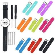 $娜娜錶帶$ Garmin S6 S20 235 630 矽膠錶帶 高爾夫手錶錶帶 藍色錶帶 黑色錶帶 代用