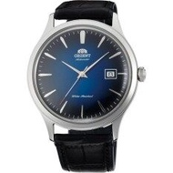 Orient Bambino Version 4 Men's Black Leather Strap Watch - FAC08004D0