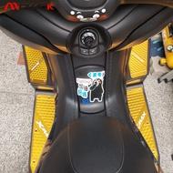 Mwok Xmax 300 Xmax 250 Modified Accessories Pedals Cnc Aluminum Alloy Foot Pad