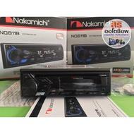 เครื่องเล่นติดรถยนต์ 1D MP USB BT Nakamichi NQ811B