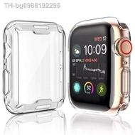 hot เคส Apple Watch ขนาด 38 มม. 40 มม. 42 มม. 44 มม. ซิลิโคนอ่อนนุ่มหุ้มใสสำหรับ iWatchSeries 6/5/4/3/2/1
