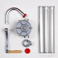 鋁合金手搖油泵25 油抽 手動抽油器吸油機柴油桶泵加油泵 1995生活雜貨NMS