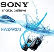 Sony Walkman 100% waterproof Sports MP3 player headphone NWZ-W273