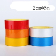 Sale Sheeting Great Reflect Car Decal Tape 1cm/2cm*5m Stickers