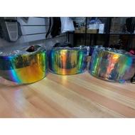T's SHOEI X14 Z7 電鍍彩色鏡片
