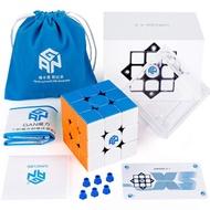 Coogam GAN 356 XS Speed Cube 3x3 Stickerless Gans 356XS Magnetic Puzzle Cube Gan356 XS 3x3x3 M