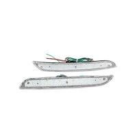 BMW 寶馬5系列 F10 F18 2011-2014年 適用 LED後保桿燈(透明燈殼) LL-24549