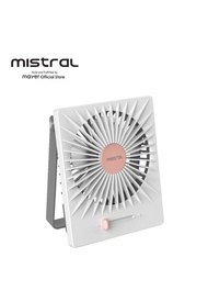 Mimica by Mistral The Promise II Rechargeable USB Fan (MRF400)
