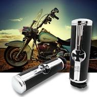 現貨秒發 MOTOGT俱樂部輕改裝摩托裝備摩托車手把適用于哈雷XL883 1200 48改裝復古骷髏手握把套手把膠