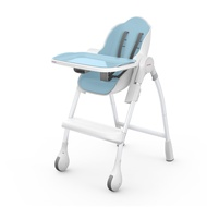 新加坡 Oribel - 成長型多功能高腳餐椅-棉花糖藍