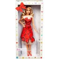 【湯圓嬉遊趣】MATTEL- 芭比收藏娃娃 Barbie -芭比收藏系列-幸運祝福芭比(內含愛心洋裝芭比)