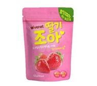 【淘氣寶寶】韓國 ivenet 艾唯倪 果乾粒-草莓