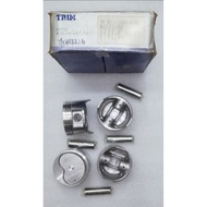 TOYOTA AE82 4AC 1587CC PISTON WITH PIN AND CLIP 20261-STD BORE-81MM