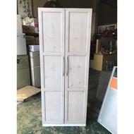 東鼎二手家具 IKEA3x7尺雙門實木衣櫃*衣櫥*衣櫃*掛衣櫃*置物櫃*收納櫃*櫥櫃