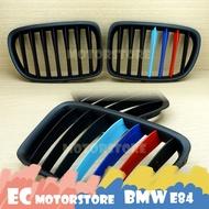BMW 寶馬 X1 E84 消光黑 三色 鼻頭 水箱護罩