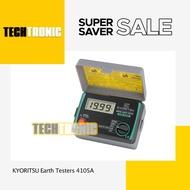 Kyoritsu Earth Testers 4105a - Techtronic
