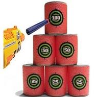 AURKTECH Hunting 6 Pcs Bullet Targets Shot Dart For Series Blasters Darts Toy Gun Soft