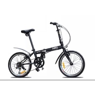 HITO BRAND - Foldable Bike - Bicycle - Assembled - Shimano 6-Speed Gear - Light Weight