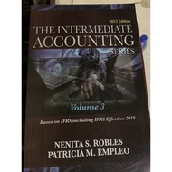 The Intermediate Accounting volume 3 by Robles