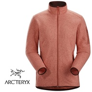 【ARCTERYX 始祖鳥 加拿大】Covert 刷毛外套 刷毛保暖外套 刷毛夾克 賽德納雜橘 女款 (L07252500)