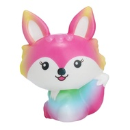 Squishies Toy Kawaii Fox Slow Rising Cream Scented Stress Relief Toys Gifts
