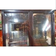 雙姓祖先龕 高級紅木製作 裡面板子 約8片 兩座有隔板 中間都有隔板