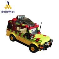Kids Machine MOC car Lego Gift Children Building Blocks Jurassic Park Series Compatible Lego Ready stock Toys