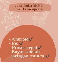 Jasa Buka Blokir Imei (jaringan hilang)