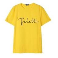 IU 李知恩 palette 訂製短袖黃色 T恤