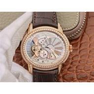 【名錶】V9 AP愛彼千禧系列15350鏤空鑲鑽男士自動機械錶大牌
