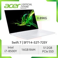Acer Swift 7 SF714-52T-72SY Light Weight Laptop at 0.89 KG with 8th Gen Intel i7-8500Y processor