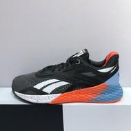 REEBOK NANO X 男生 黑藍橘色 穩定 運動 慢跑 訓練鞋 EF7298
