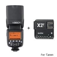 ◎相機專家◎ Godox 神牛 V860C II + X2T 發射器 Canon 二代鋰電池閃光燈 開年公司貨