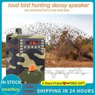 Terrlaris 48W Speaker Bird Caller Predator Sound Caller Mp3