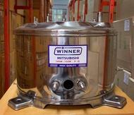 ถังปั๊มน้ำสแตนเลส Winnet ใช้สำหรับปั๊มน้ำ มิตซูบิชิ รุ่น( 105-155P)WP 85-155QS