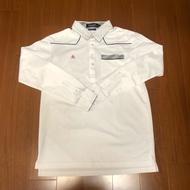 (Size L) Le Coq Sportif 公雞牌  長袖polo衫
