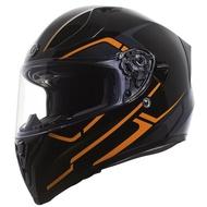 【極度風速】TORC T15 RUSH ORANGE 頭槌帽 亮光 街跑車 全罩 安全帽 內遮陽片