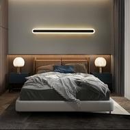 長條燈 壁燈線條燈長條形臥室燈明裝商業空間玄關簡約現代LED裝飾床頭燈 照明工具【DD30211】