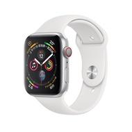 Apple Watch Series 4 GPS+LTE 44mm 銀色 鋁金屬錶殼 白色運動型錶帶 蝦皮24h 現貨