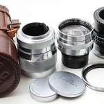 Canon 85mm f1.9 RF (改Nikon)極新淨收藏級 旁軸人像鏡皇 連皮筒 遮光罩 全...