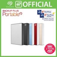 [Free 2x NTUC e-Voucher] Seagate Backup Plus Slim Portable 4TB Hard Drive [Free gift]