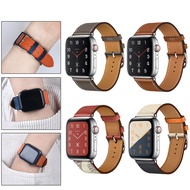 High quality PU Leather loop for i Watch 40mm 44mm Sports Strap Single Tour band for Apple watch 42mm 38mm Series 1 2 3 4 5 6 SE