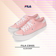 Fila Canvas Shoes Electric Embroidery Classic Canvas Pink Shoes