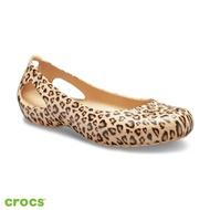 【Crocs】女鞋 卡笛印花平底鞋(205862-98R)