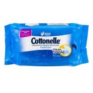 Cottonelle FreshCare Flushable Cleansing Cloths, 42 pcs, 18.4 x 12.7 cm - 1 QTY pack