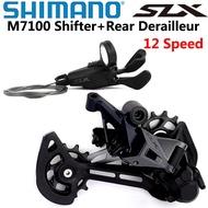 SHIMANO DEORE SLX 12 Speed M7100 Groupset Mountain Bike Groupset 1x12-Speed SL + RD M7100 Rear Derai