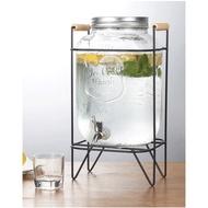 梅森罐 5L&8L 玻璃罐 出口歐美日本 冷水壺 304不銹鋼水龍頭飲料桶 紅茶桶