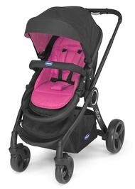 加贈Auto-Fix Fast手提汽座+顏色組合包《Chicco》Urban Plus 個性化雙向手推車-粉