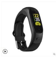 智慧手環智慧手錶智能手環藍牙耳機二合壹可通話分離式多功能可接電話手表運動計步器男女oppo蘋果vivo小米華為4